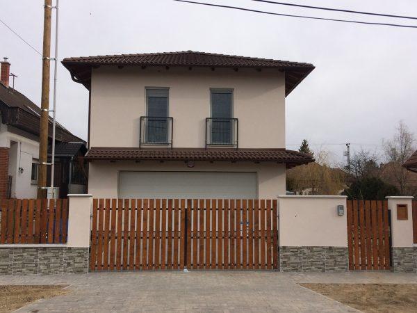 Családi ház Budapest XVII. kerület Kisfaludy utca